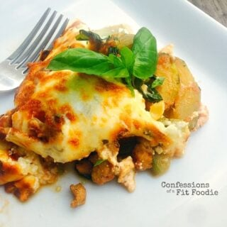 21 Day Fix One Skillet Lazy Zucchini Lasagna