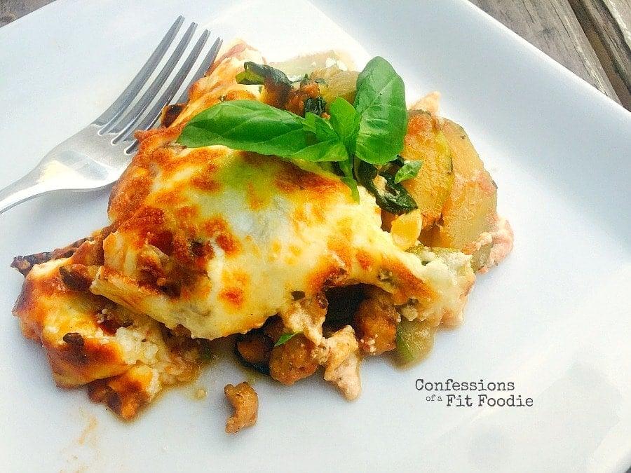 one skillet zucchini lasagna