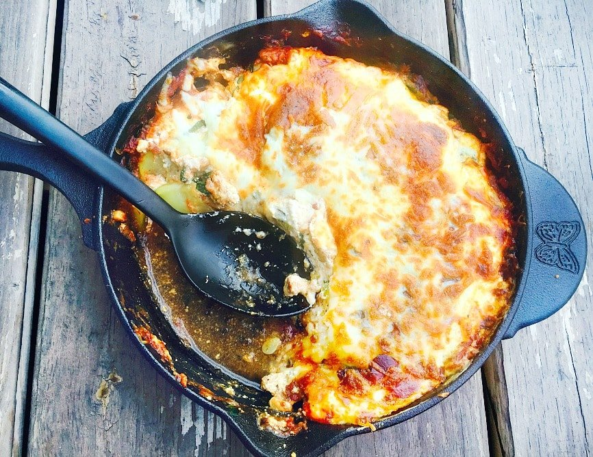 one skillet zucchini lasagna21dayfix