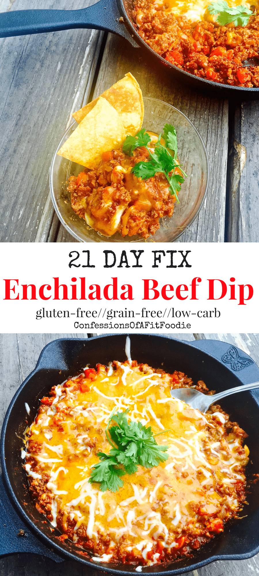 21 Day Fix Enchilada Beef Dip Stove Top Instant Pot