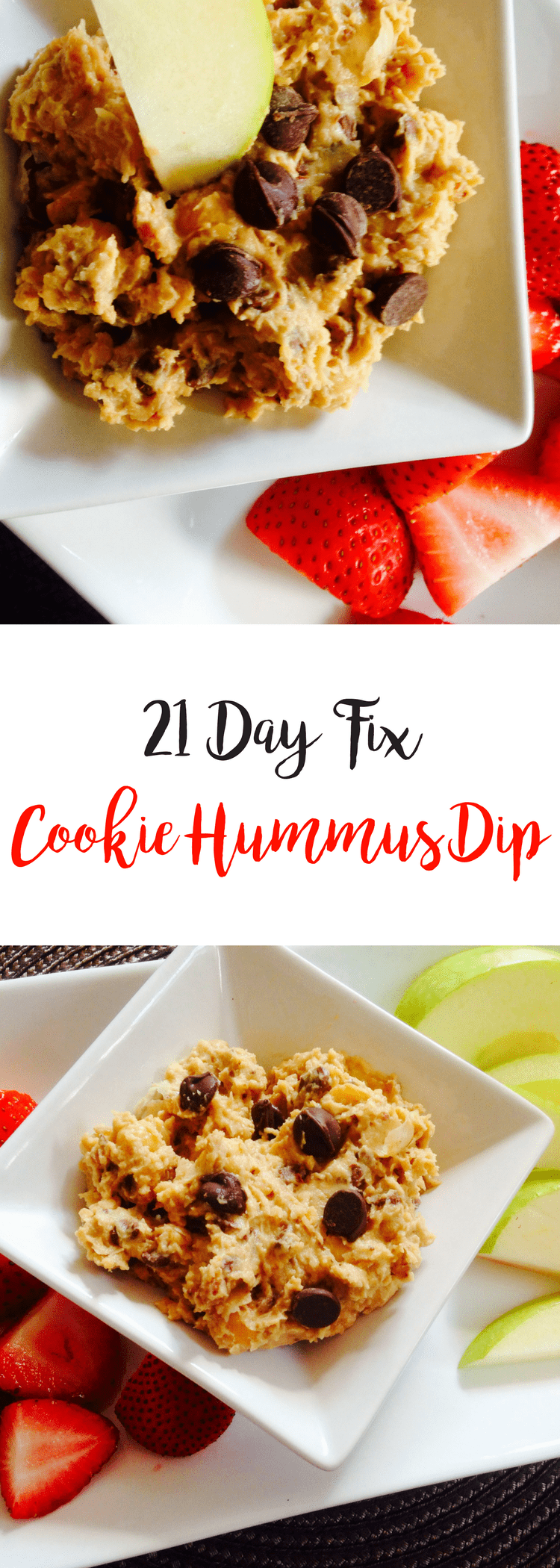 Cookie Hummus Dip {21 Day Fix} | Confessions of a Fit Foodie
