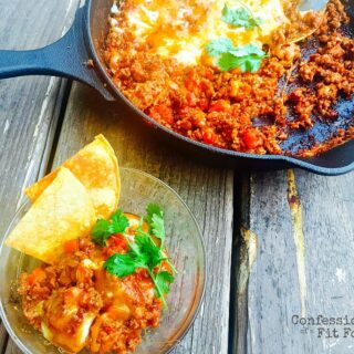 21 Day Fix Enchilada Beef Dip | Stove Top | Instant Pot