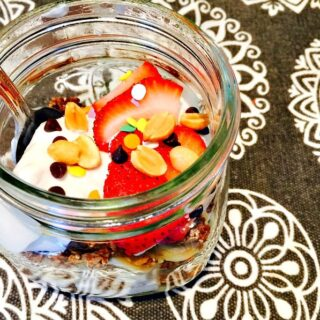21 Day Fix Breakfast Banana Split {Make ahead)