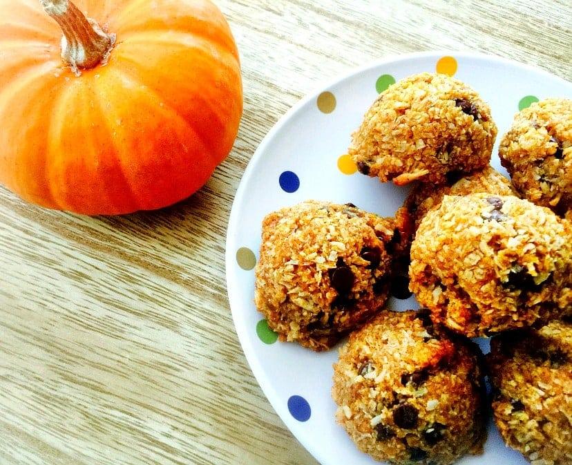 pumpkin-chocolate-chip-macaroon-cookies