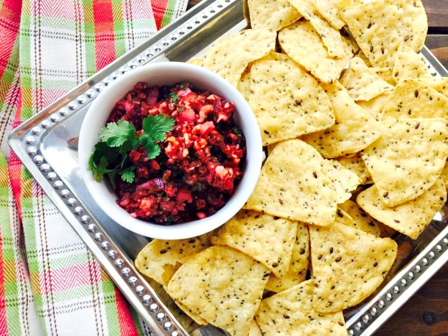 21 Day Fix Holiday Salsa