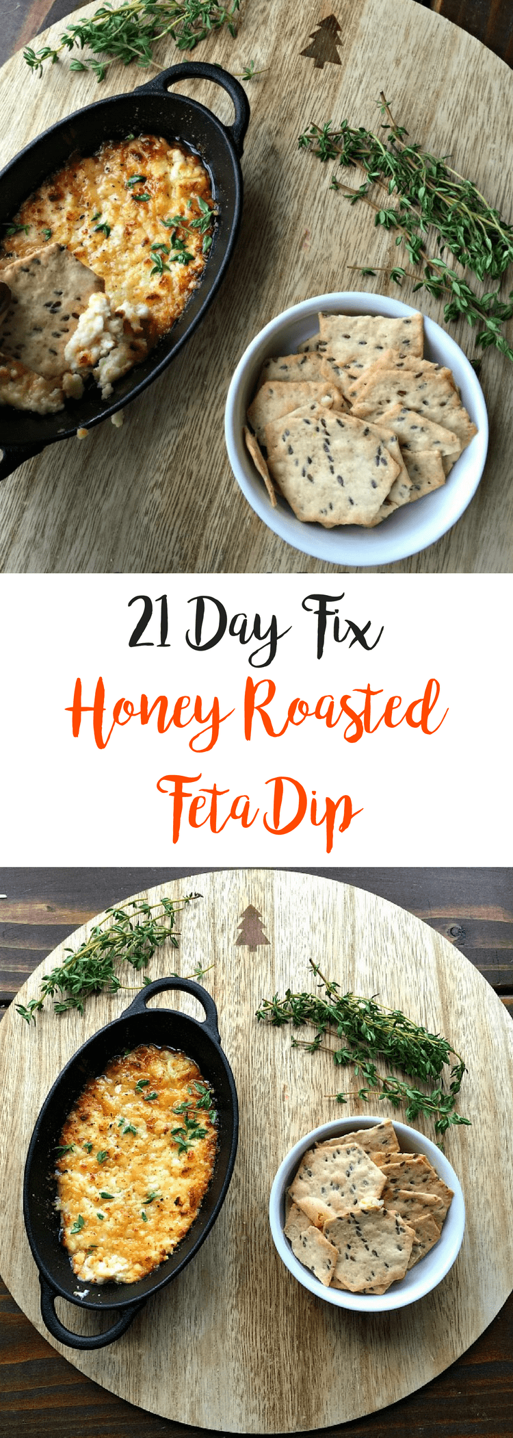 21 Day Fix Honey Roasted Feta Dip {Gluten-free} | Confessions of a Fit Foodie