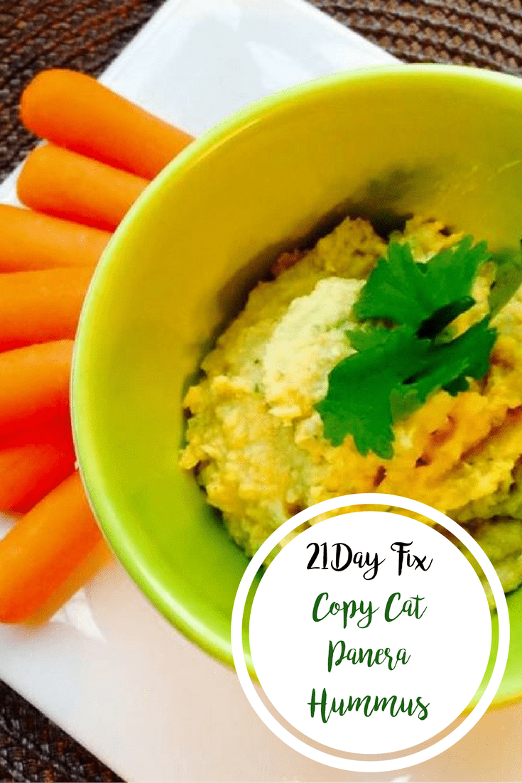 Copy Cat Panera Hummus | Confessions of a Fit Foodie