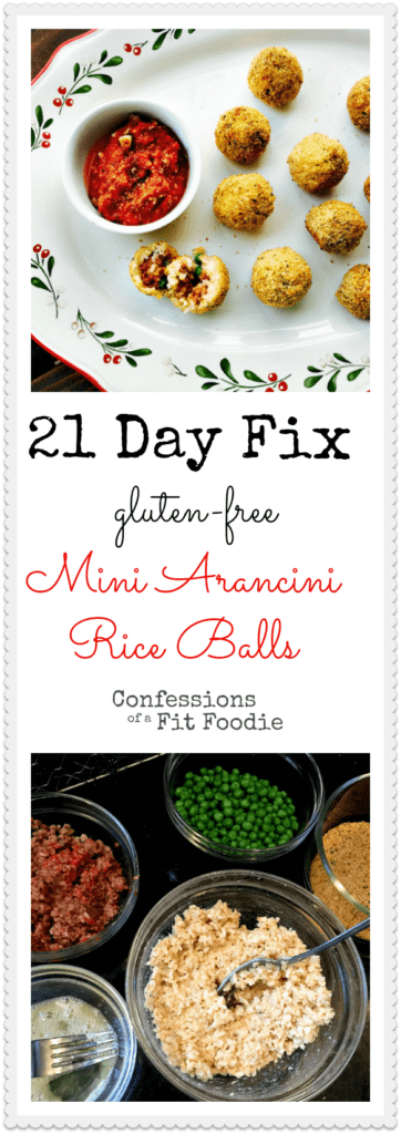 21 Day Fix Approved Rice Balls