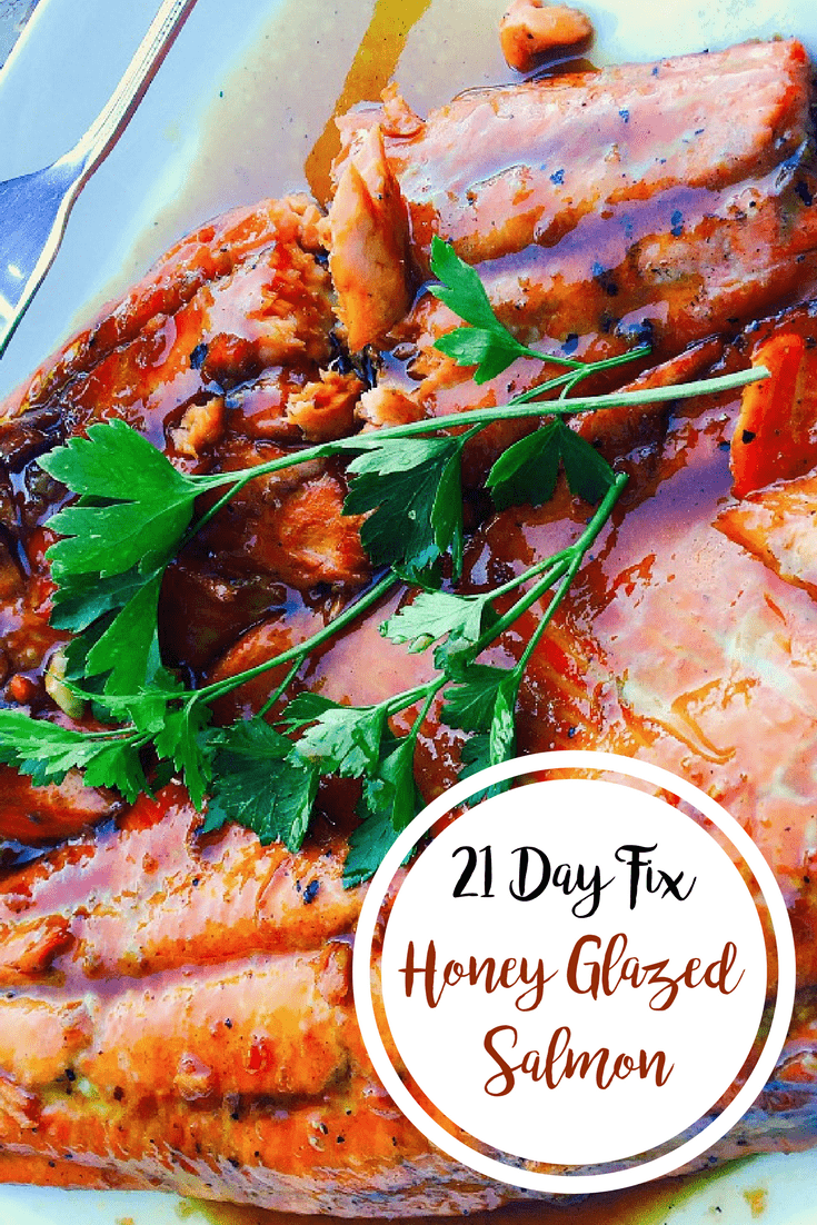 21 Day Fix Honey Glazed Salmon | Confessions of a Fit Foodie