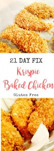 21 Day Fix Baked Chicken