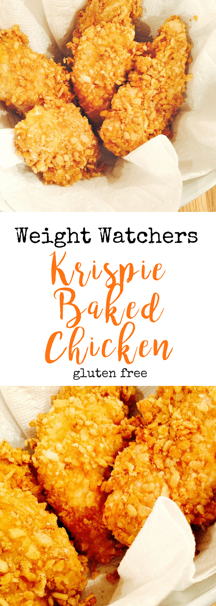 Weight Watchers Krispie Baked Chicken | Confessions of a Fit Foodie