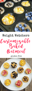 Weight Watchers Customizable Baked Oatmeal   Confessions of a Fit Foodie