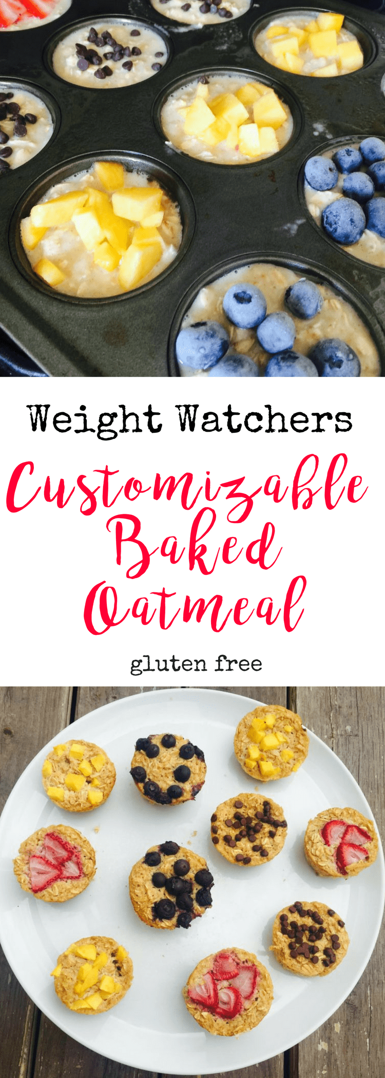 Weight Watchers Customizable Baked Oatmeal | Confessions of a Fit Foodie