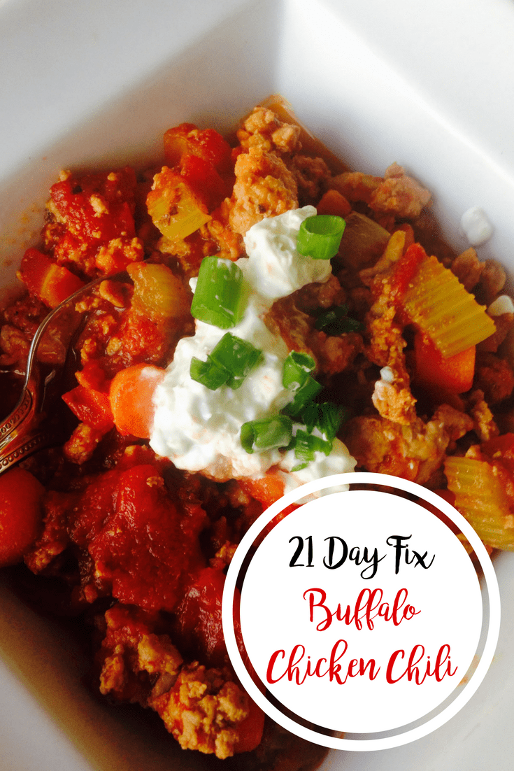 Buffalo Chicken Chili {21 Day Fix } | Confessions of a Fit Foodie