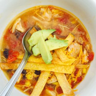 21 Day Fix Instant Pot Tortilla Soup