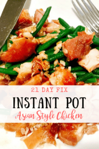 21 Day Fix Instant Pot Asian Style Chicken