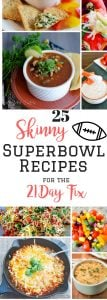 21 Day Fix Superbowl Recipes