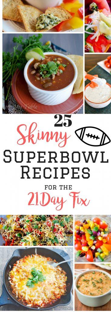 21 Day Fix Superbowl Recipes