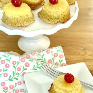 21 Day Fix Pineapple Upside Down Cake - Dairy and Gluten Free