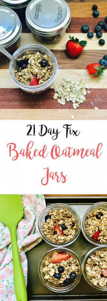21 Day Fix Baked Oatmeal Jars