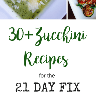 21 Day Fix Zucchini Recipes