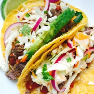 21 Day Fix Instant Pot Flank Steak Tacos|Confessions of a Fit Foodie