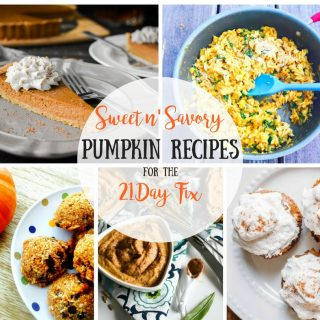 21 Day Fix Pumpkin Recipe Roundup
