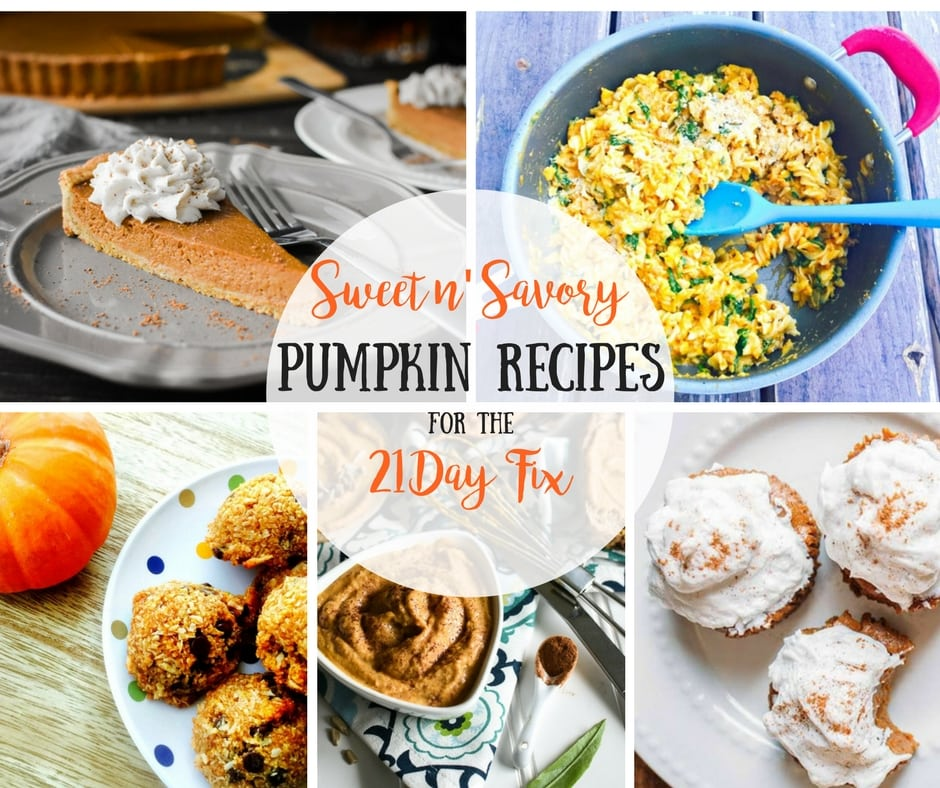 21 Day Fix Pumpkin Recipes | Confessions of a Fit Foodie