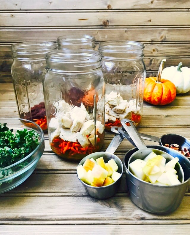 21 Day Fix Mason Jar Salads | Confessions of a Fit Foodie