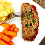 21 Day Fix Instant Pot Meatloaf and Mashed Potatoes | Confessions of a Fit Foodie