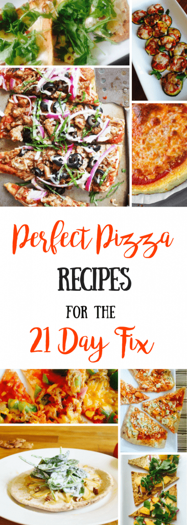 21 Day Fix Pizza Recipes | Confessions of a Fit Foodie