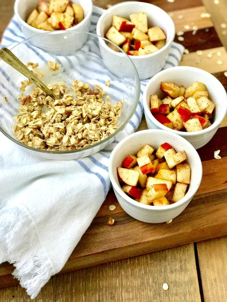 21 Day Fix Instant Pot Apple Crisp|Confessions of a Fit Foodie