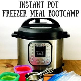 21 Day Fix Instant Pot Freezer Meal Prep | Confessions of a Fit Foodie