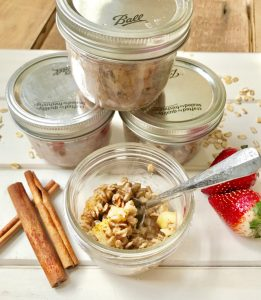 Instant Pot Oatmeal Jars   Confessions of a Fit Foodie