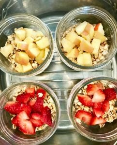 Instant Pot Oatmeal Jars | Confessions of a Fit Foodie