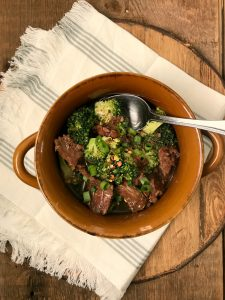 Instant Pot Easy Beef and Broccoli  21 Day Fix Beef and Broccoli