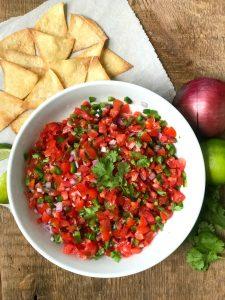 21 Day Fix Homemade Salsa| 21 Day Fix Pico De Gallo