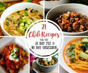 21 Day Fix Chili Recipes |Confessions of a Fit Foodie