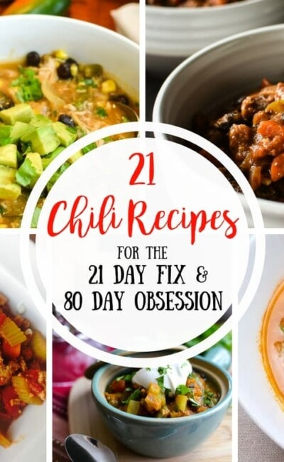 21 Day Fix Chili Recipes  Confessions of a Fit Foodie