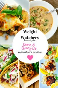 21 Day Fix Meal Plan & Grocery List   Weight Watchers Meal Plan and Grocery List