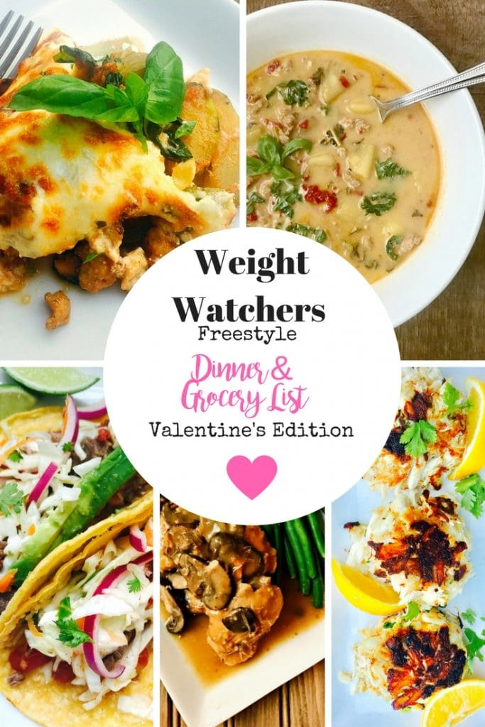 21 Day Fix Meal Plan & Grocery List | Weight Watchers Meal Plan and Grocery List
