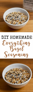 DIY Homemade Everything Bagel Seasoning   Confessions of a Fit Foodie