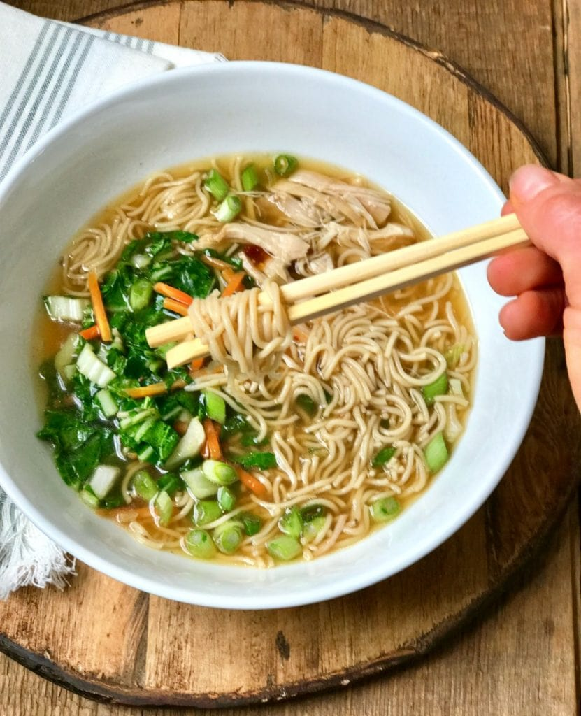 Instant Pot Ramen Noodles | 21 Day Fix Instant Pot Ramen Noodles