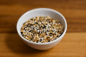 DIY Homemade Everything Bagel Seasoning | Confessions of a Fit Foodie