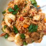Instant Pot Jambalaya| 21 Day Fix Jambalaya