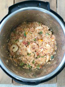 Instant Pot Jambalaya| 21 Day Fix Jambalaya