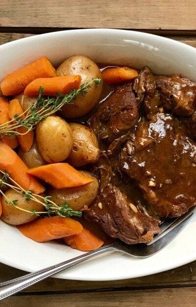 Instant Pot Beef Pot Roast | 21 Day Fix Beef Pot Roast