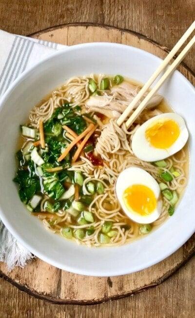 Instant Pot Ramen Noodles | 21 Day Fix Instant Pot Ramen Noodles