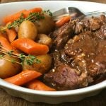 Instant Pot Beef Pot Roast | 21 Day Fix Beef Pot Roast