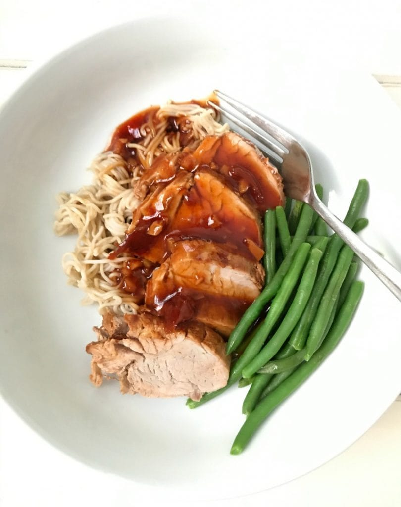 Instant Pot Asian Pork Tenderloin| Confessions of a Fit Foodie